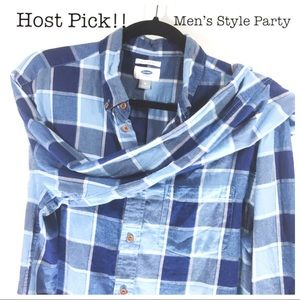 Old Navy Men's Slim-Fit Long-Sleeve Button-Down